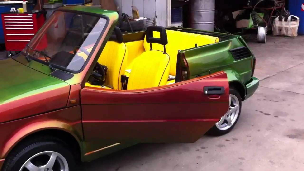 Fiat 126 Cabrio Youtube