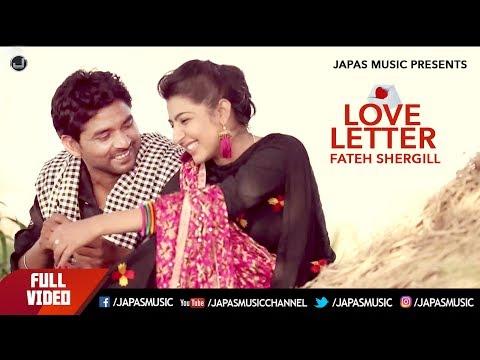 Love Letter | Fateh Shergill | Full Song HD | Japas Music