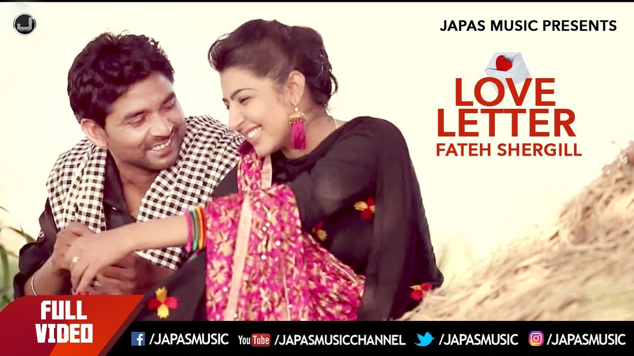 love letter song letter fateh shergill song hd japas 10011 | maxresdefault