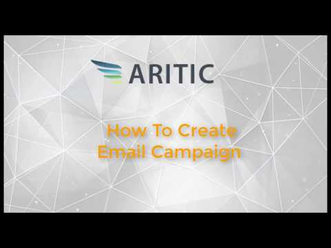 How to Create Engagement Email Campaign in Aritic PinPoint?