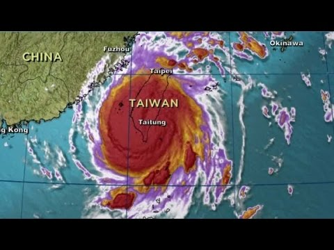 Taiwan Super Typhoon Nepartak forces thousands to evacuate