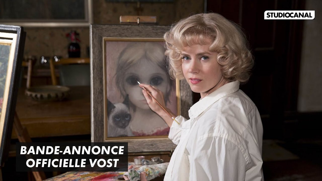 BIG EYES - Bande Annonce Officielle VOST - Tim Burton (2015)
