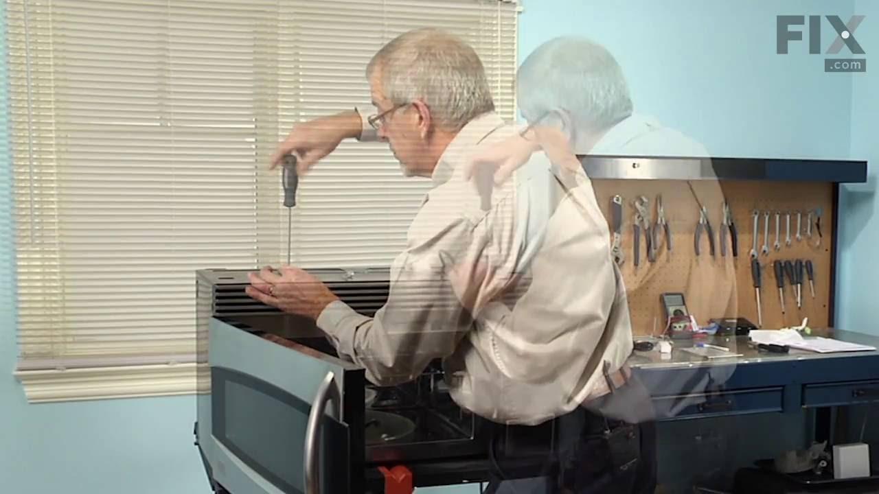 Ge Profile Microwave Repair General Electric Microwave Repair How To Replace The Halogen