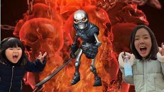 해골유령? 우리집에 해골유령이 나타났어요! 해골 해골귀신의 저주를 풀어라! 할로윈 유령 해골 Ghost Skull is coming   l Skull of doom