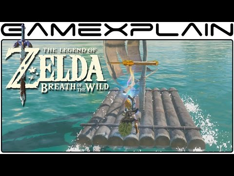 Zelda Breath of the Wild Sailing - How to Sail and Create Wind in