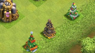 Clash of Clans - Take A Look At This Years X-Mas Tree!