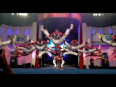The best jumps sequences on Cheerleading 2014 - YouTube
