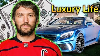 Alexander Ovechkin Luxury Lifestyle | Bio, Family, Net worth, Earning, House, Cars