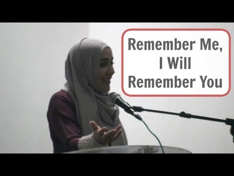 Remember Me, I Will Remember You