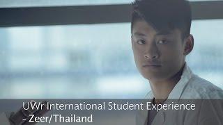 UWr International Student Experience - Zeer/Thailand