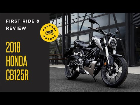 2018 HONDA CB125R // First Ride Review (Best 125cc on the market)