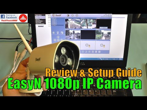 EasyN HD 1080P 2MP Wireless IP Camera - Review & Setup Guide