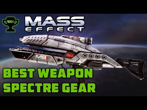 Mass Effect 1 Spectre Gear Guide: How To Get The Best Weapons In Mass Effect 1 (Spectre Master Gear)