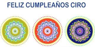 Ciro   Indian Designs - Happy Birthday