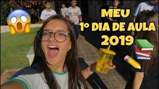 MEU PRIMEIRO DIA DE AULA 2019 - Mah Marangoni
