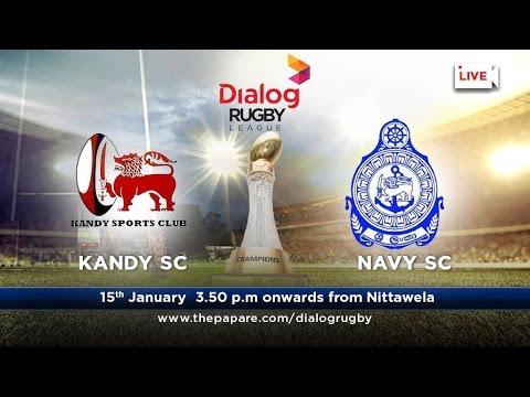Kandy SC v Navy SC - Dialog Rugby League 2016/17 - Match #40