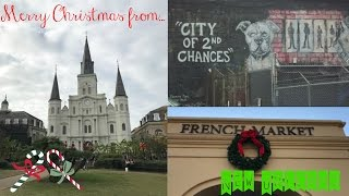 Christmas in New Orleans   My First Vlog
