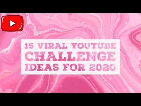 15 Viral Youtube Challenge Ideas For 2020
