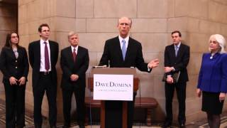 Dave Domina - US Senate Announcement Speech 2014