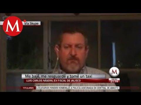 Entrevista a ex fiscal de Jalisco, Luis Carlos Nájera