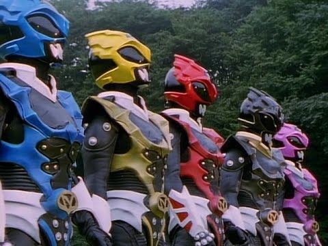 Download Power Rangers in Space  Power Rangers vs Psycho Rangers All Fights Compilation