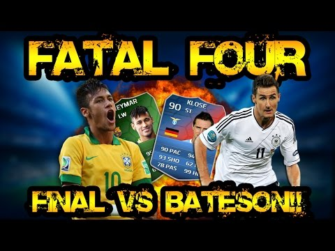 FATAL FOUR FINAL VS BATESON! FIFA 14 ULTIMATE TEAM