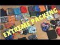 Packing || 3 people, 2 weeks, 1 carry-on bag!