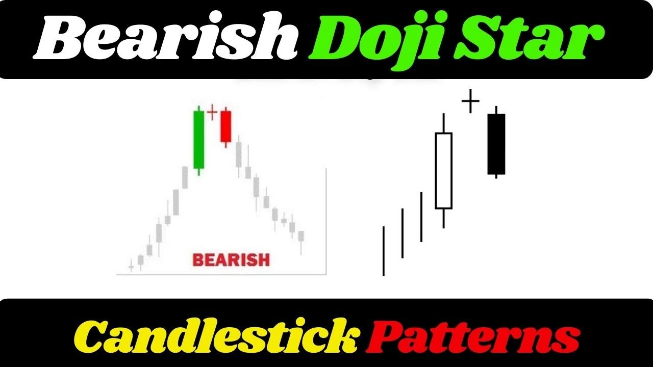 Bearish Doji Star — Candlestick Pattern — Forex Videos