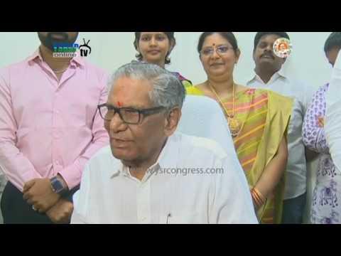 YSRCP MLC Ummareddy Venkateswarulu Press Meet after Takeing Charge as Opposition Leader
