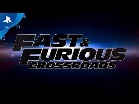 Fast & Furious Crossroads | Трейлер игрового процесса (субтитры) | PS4