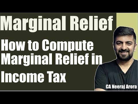 Marginal Relief | How To Calculate Marginal Relief Under Income Tax 2018