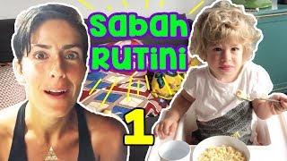 Barselona da Sabah Rutini - 1. Bölüm | Bizim Aile Eğlenceli Çocuk Videoları