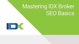 Mastering IDX Broker SEO Basics