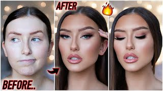 how to be a catfish in 2020... SOFT GLAM MAKEUP TUTORIAL
