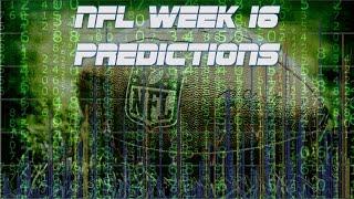 NFL Week 16 Predictions!