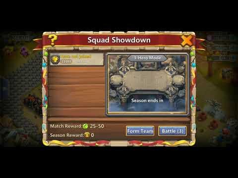 Castle Clash Squad Showdown