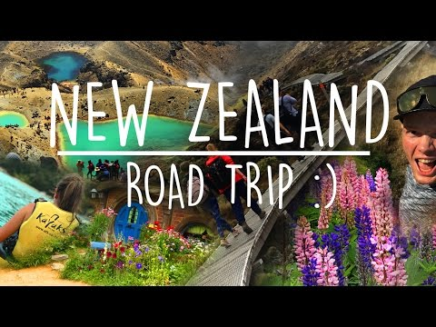 New Zealand Road Trip 2016 / 2017 ! (iPhone 7 Plus 4K)