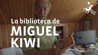 La biblioteca del físico Miguel Kiwi en Ojo en Tinta