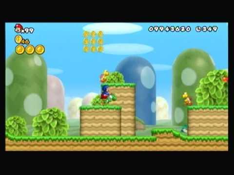 New Super Mario Bros. Wii Infinite 1 Up Trick