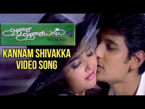 Aasai Aasaiyai Tamil Movie | Kannam Shivakka Video Song | Jiiva | Sharmelee | Mani Sharma