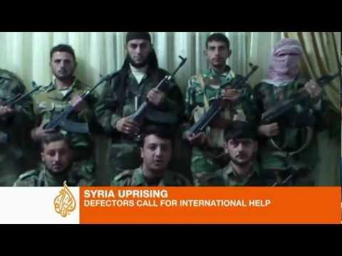 Free Syrian Army battles regime