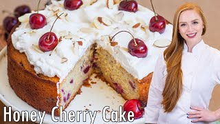 Cherry Honey Cake