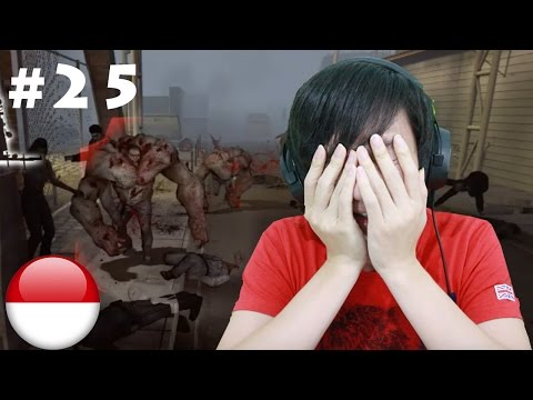 TANK !!! dimana mana - Left 4 Dead #25 - Finale Port (END)