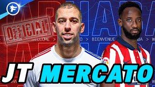 OFFICIEL : Moussa Dembélé file à l'Atlético, Islam Slimani le remplace à l'OL | Journal du Mercato