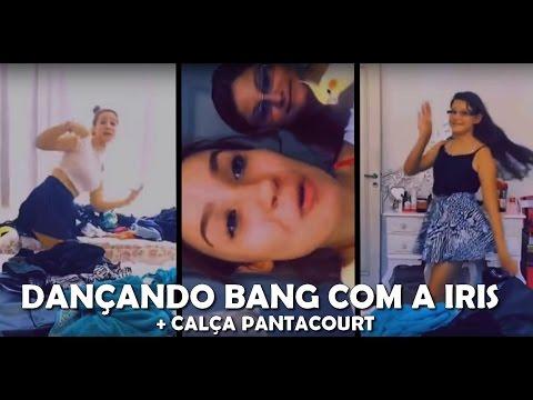BIA- DANÇANDO BANG COM A IRMÃ + CALÇA PANTACOURT
