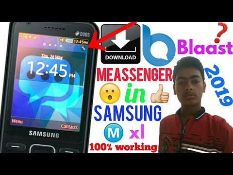 Download Blaast Messenger App In Samsung Metro Xl