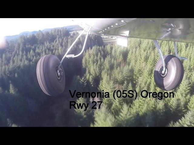 Flying Oregon Coastal Airstrips