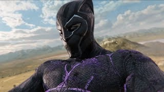 Black Panther Climax  Final Battle Fight Scene  [1080] HD