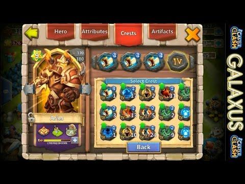 Castle Clash-(EPIC Sprint Aries)Arena Push-How To Dominate Battles