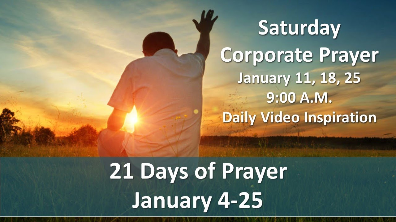 Devotion 15 of 21 days of prayer